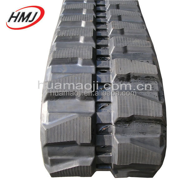 snow blower rubber flooring rubber track for run track mini excavators