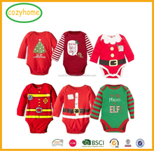 wholesale Baby Girl Dress rompers toddler clothing baby christmas clothes Baby Chevron Tutu Rompers