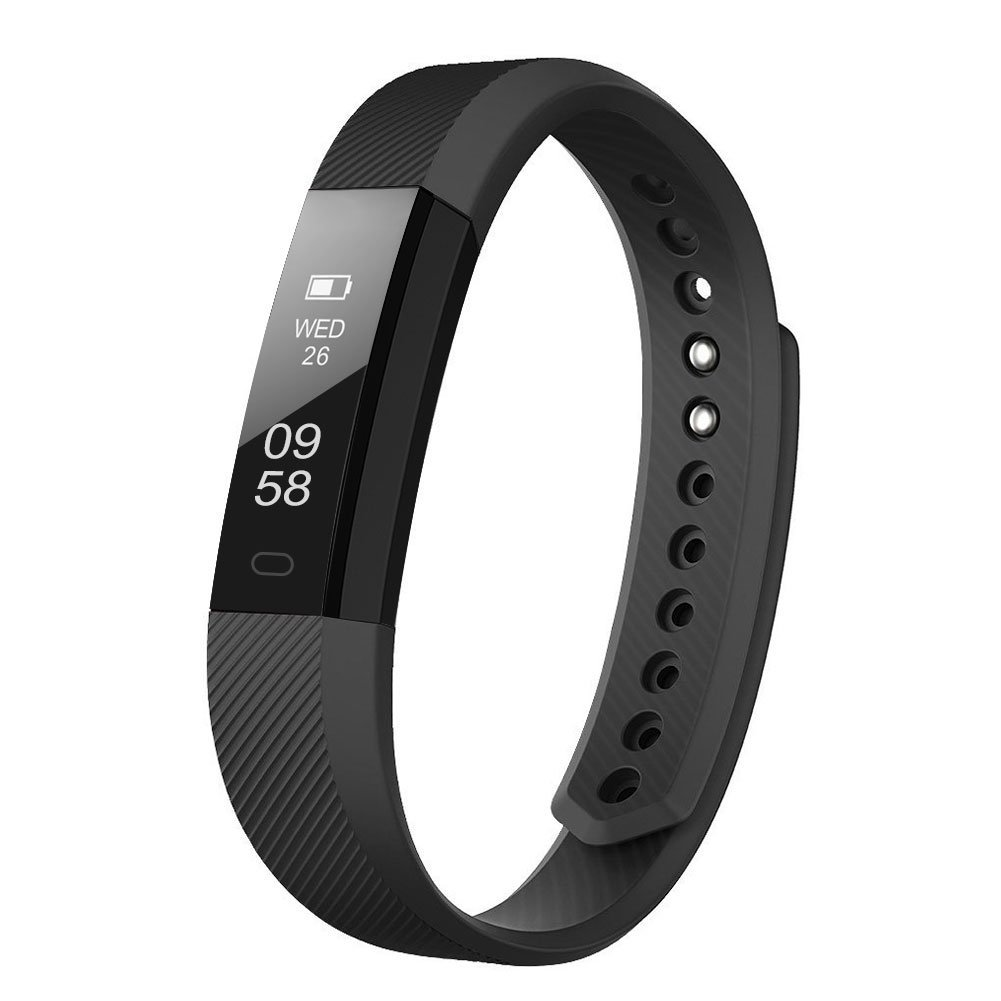 LETSCOM Fitness Tracker, Activity Tracker with Step Counter and Calorie Counter Watch Pedometer, Slim Fitness Watch for Kids Women Men