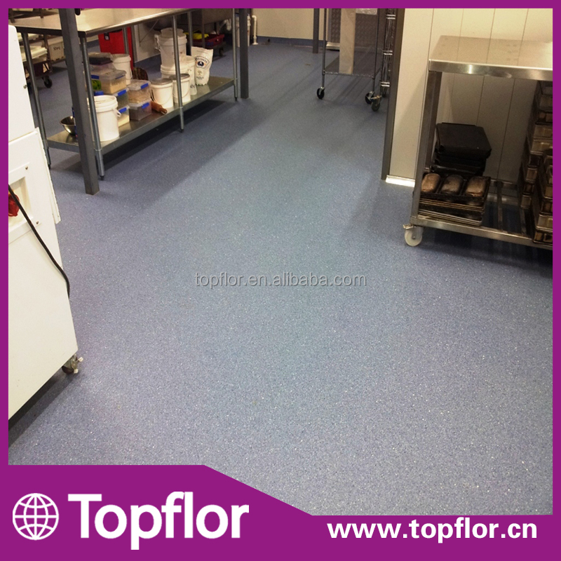 Topflor Cheap Good Quality Commercial PVC Vinyl Industrial Flooring