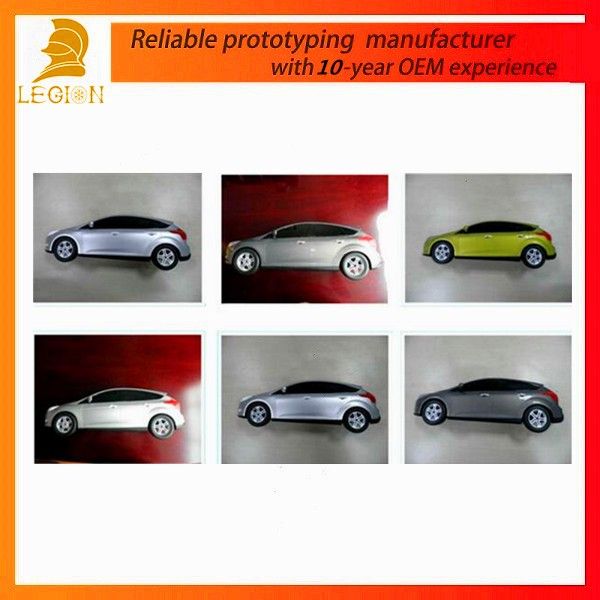 Legion Aluminum or Stainless Steel Car Rapid Prototype or 3D Printing Truck Prototype & Spare Parts