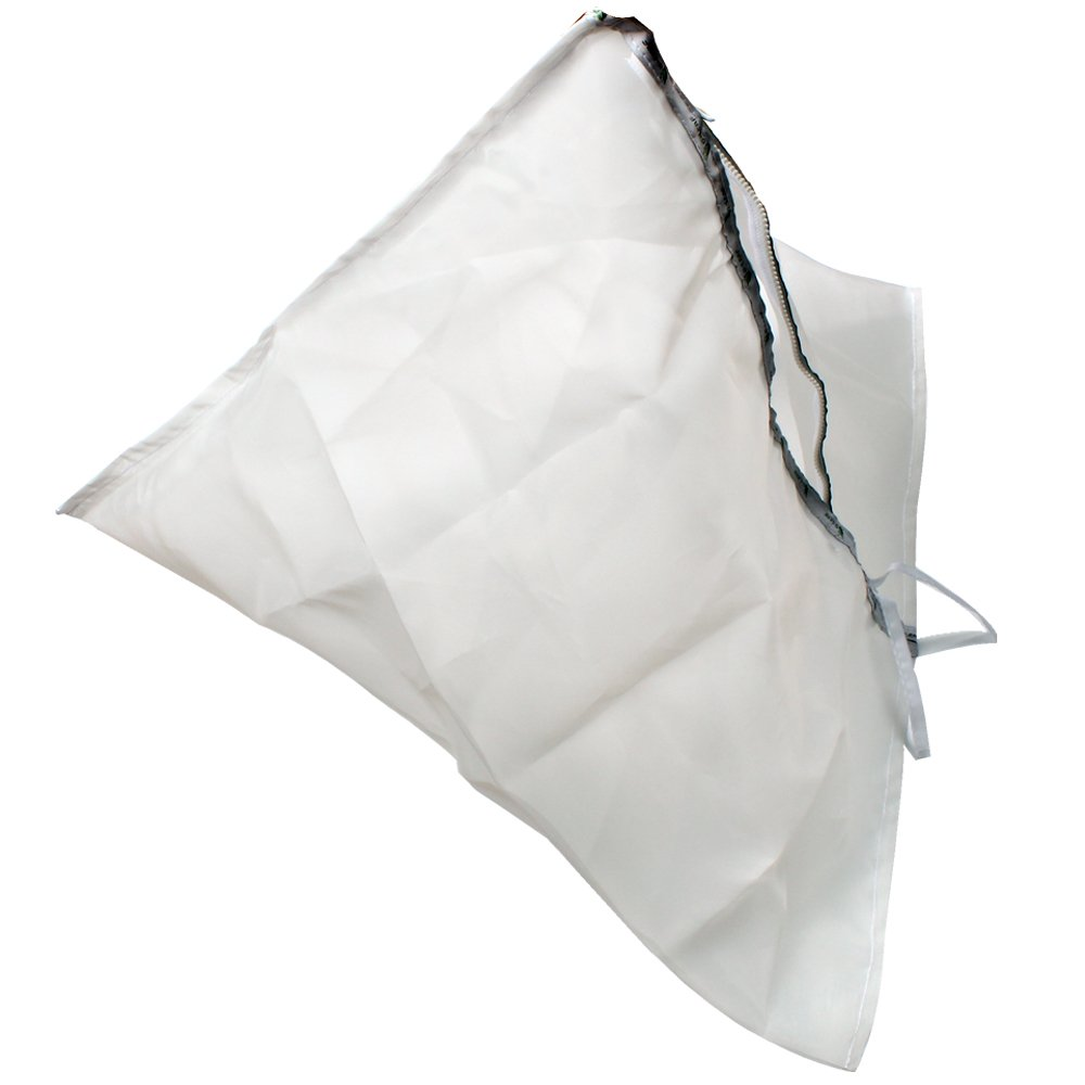 Casolly Triangular bubble hash Bag for Extraction, Mesh Washing, Herbal Extractor Filter Bag - 5 Gallon 220u