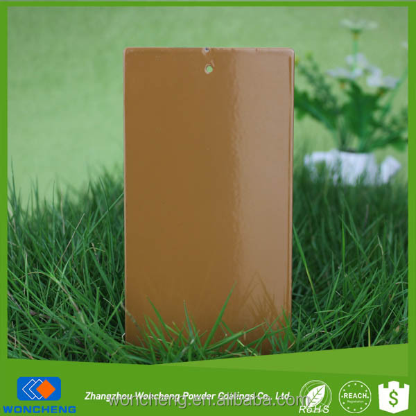Appliance Paint RAL 8001 Ochre Brown Dry Powder Coating Powder