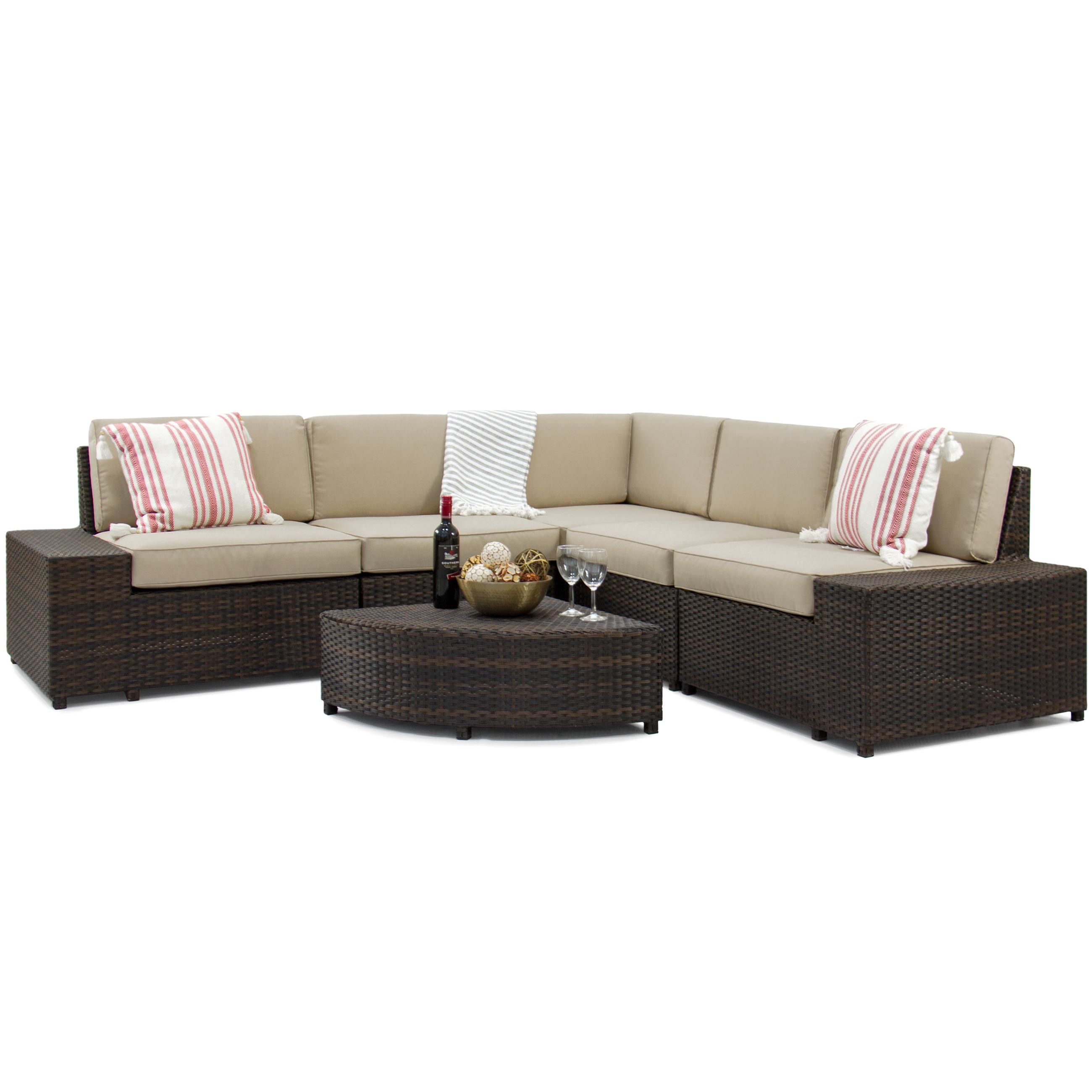 Hot SaleModern Outdoor/Indoor Rattan Sofa Sets Garden Rattan Sofa Sets