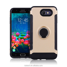 Free Sample Car Holder Round Ring Stand Case Phone Cover Unversial Phone Case For Samsung Galaxy J5