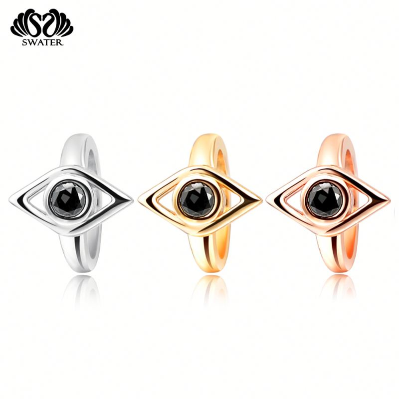 Best Selling Products Bracelet Copper Rose Gold Evil Eye Charms Wholesale