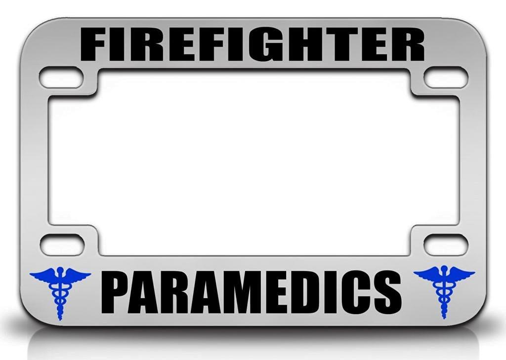 Buy FIREFIGHTER PARAMEDICS Paramedics Health Quality Metal ...