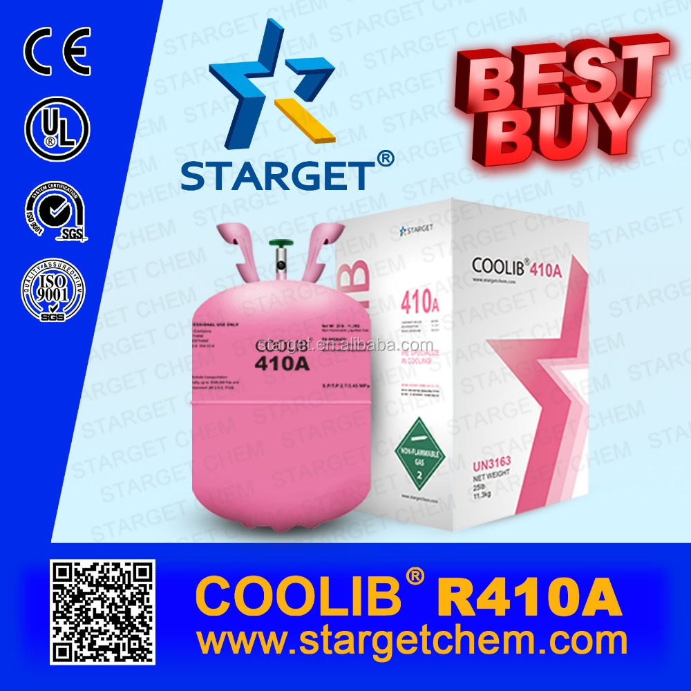 A/C refrigerant Gas r410a water content less 10 ppm