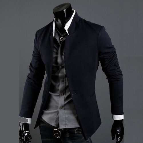 Latest Business Korean Style Men's Suit 2014 Formal Wear Fabric ...