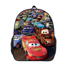 Cars Lightning-Mcqueen plush kids backpack personality outdoor lovely