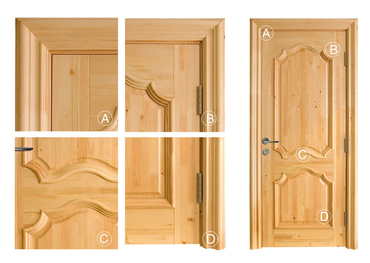 Rustic Panel Unfinished Knotty Alder Wood Prehung Interior Door With 8 Ft Height Series Buy