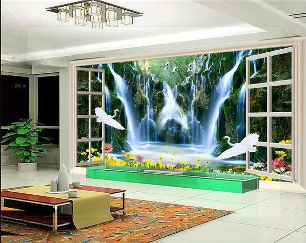 Custom 3d Nature Mural Wallpaper Nature Scenery For Walls: New Large Wallpaper Custom Wallpaper Natural Scenery