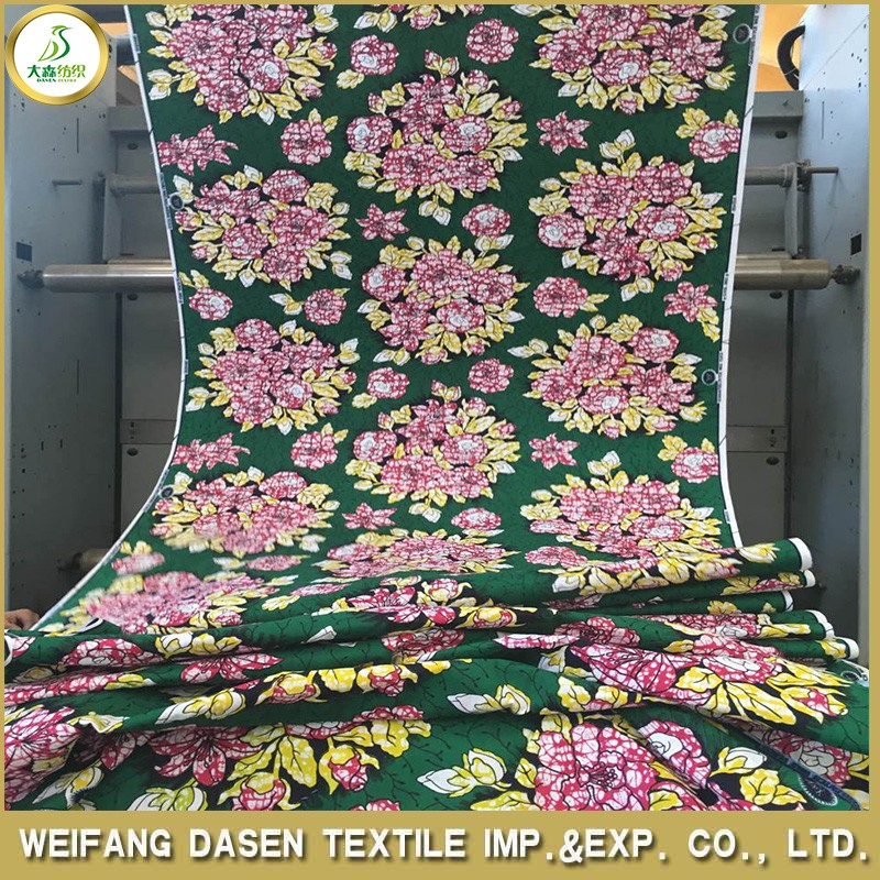 China good quality 100% cotton combed printed fabric