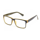 Casual Fashion Horned Rim CP Optical Rectangular Frame Clear Lens Eyeglasses