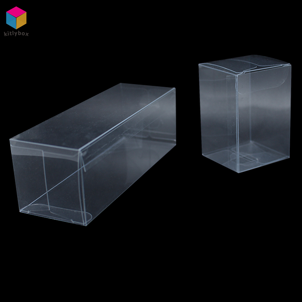 Foldable Clear PET Packaging Gift PVC Transparent Plastic Box