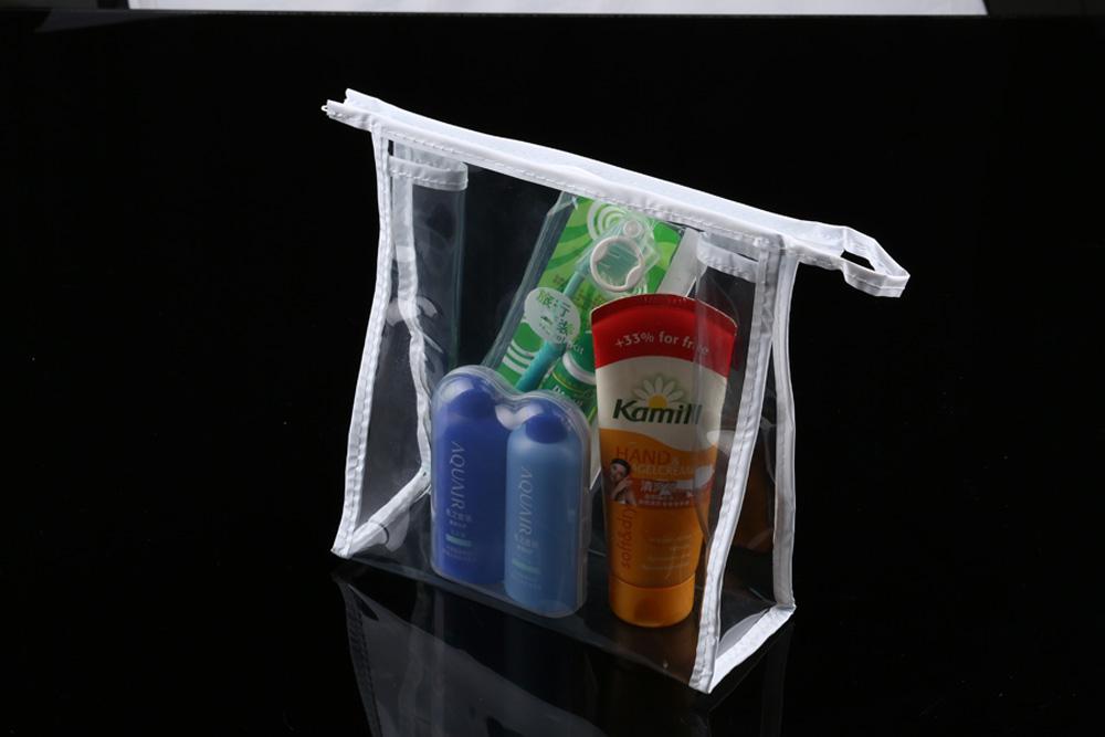 Wodisonクリア旅行化粧品袋ジッパートイレタリーオーガナイザーケースに運ぶ