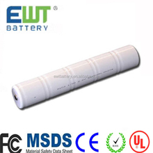 6v 4ah rechargeable batteries nicd led cabinet light rechargeable battery