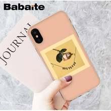 Babaite милый и свежий цветок Эстетическая Девушка Летний чехол для телефона для iPhone8 7 6 6S 6plus X XSMAX 5 5S SE XR 10 11 11pro 11promax(Китай)