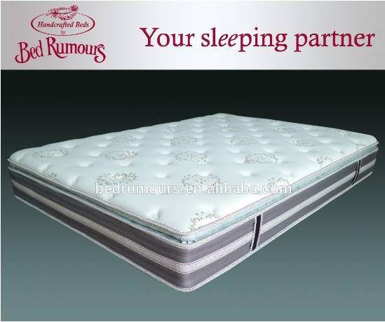 Luxury high density memory foam sleep well healthy mattress bed