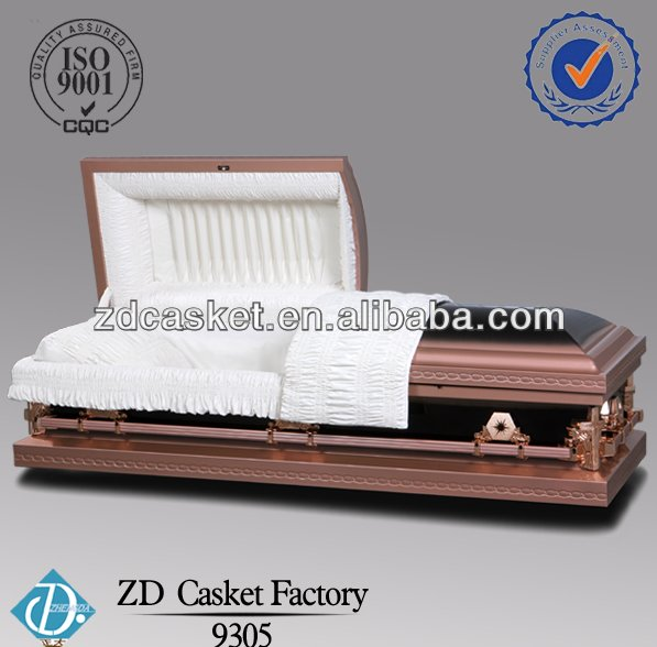Funeral china best casket coffin(9305)
