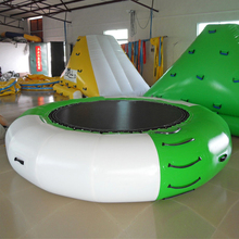 Goedkope volwassen lucht springkussen <span class=keywords><strong>opblaasbare</strong></span> zwembad trampolines <span class=keywords><strong>kinderen</strong></span> water springen <span class=keywords><strong>trampoline</strong></span>