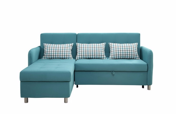 Good quality sectional corner l shape sofa cum bed with for Good quality divan beds
