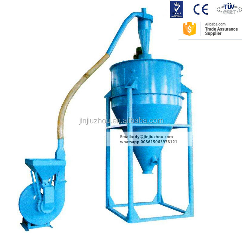 Used For Waste Tire Recycling 1100 Type recycled tire fibers separator machine