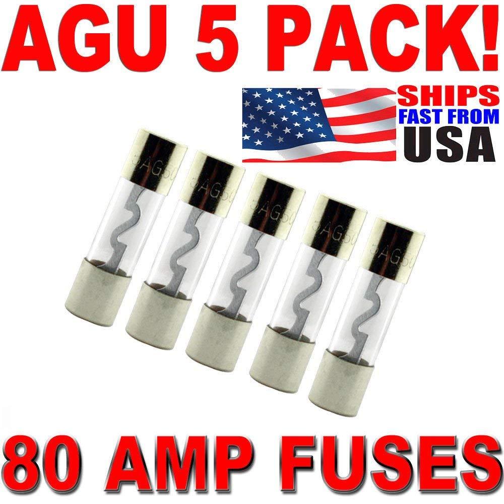 Install Bay AGU20-20 Amp AGU Fuses 10 Pack