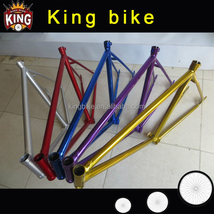 OEM colorful CR-MO bicycle fixie frame /fixed gear bike frame