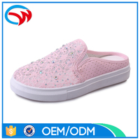 OEM High Quality Lace Upper Women Casual Shoes 2017