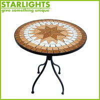 factory direct sale outdoor comfortable garden tile top table