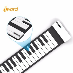 Promotion gift piano toy wireless roll up piano from Manufacturer iWord