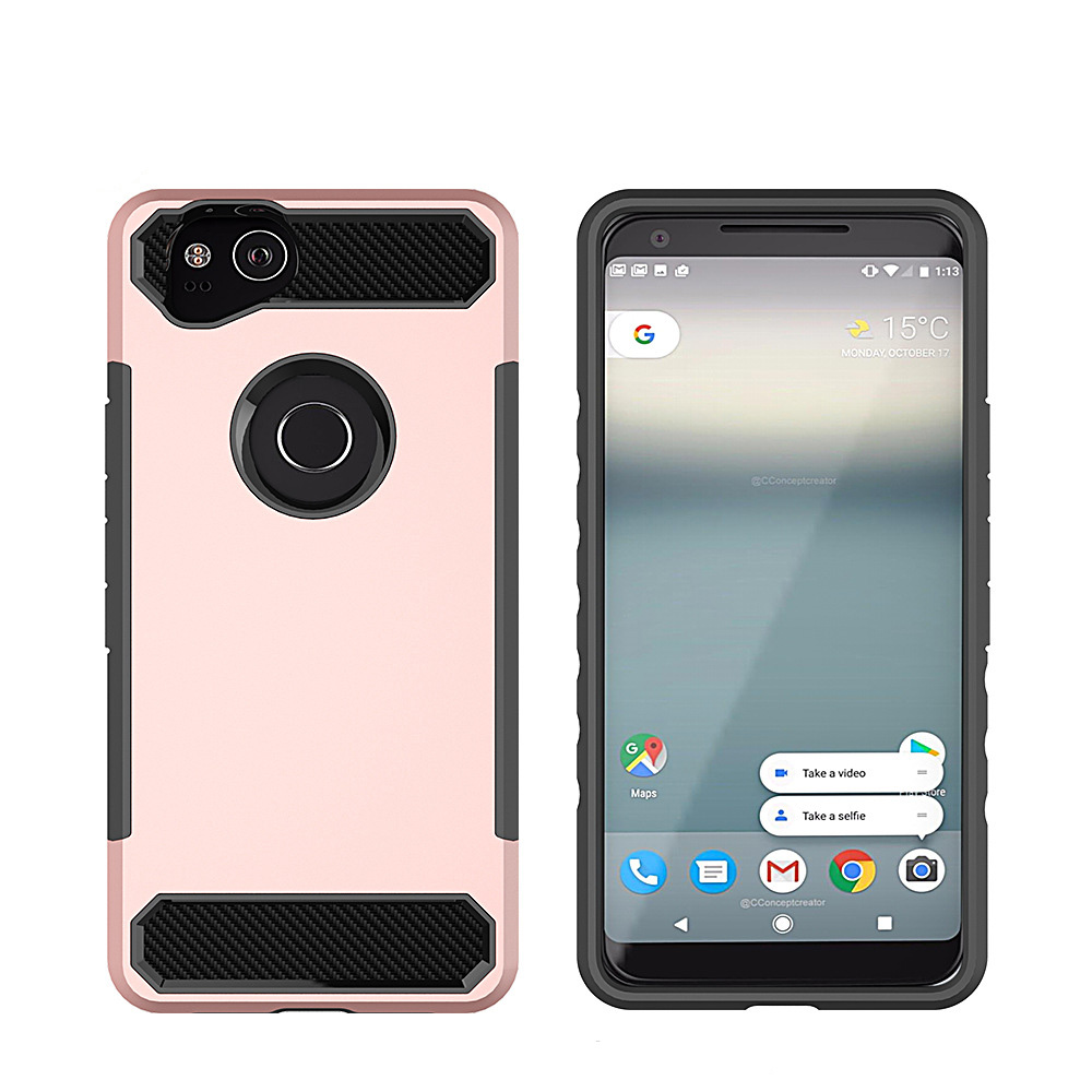 For Google Pixel 2 Case Shockproof Phone Cover Slim Fit Protective Shell
