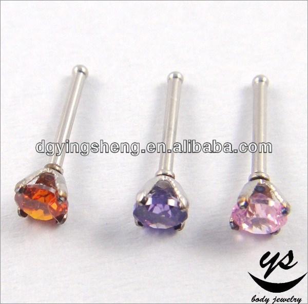 colored stud solitaire earrings diamond set st cut round ear color