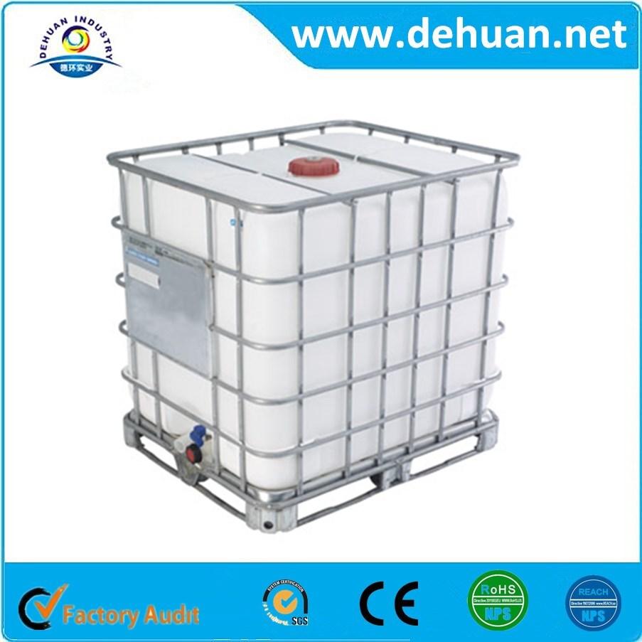 ibc tanque de 1000 litros de pl stico com metal pallet equipamentos para armazenar qu micos id. Black Bedroom Furniture Sets. Home Design Ideas