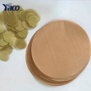 15mm brass filter screen disc, brass screen mesh, brass filter disc