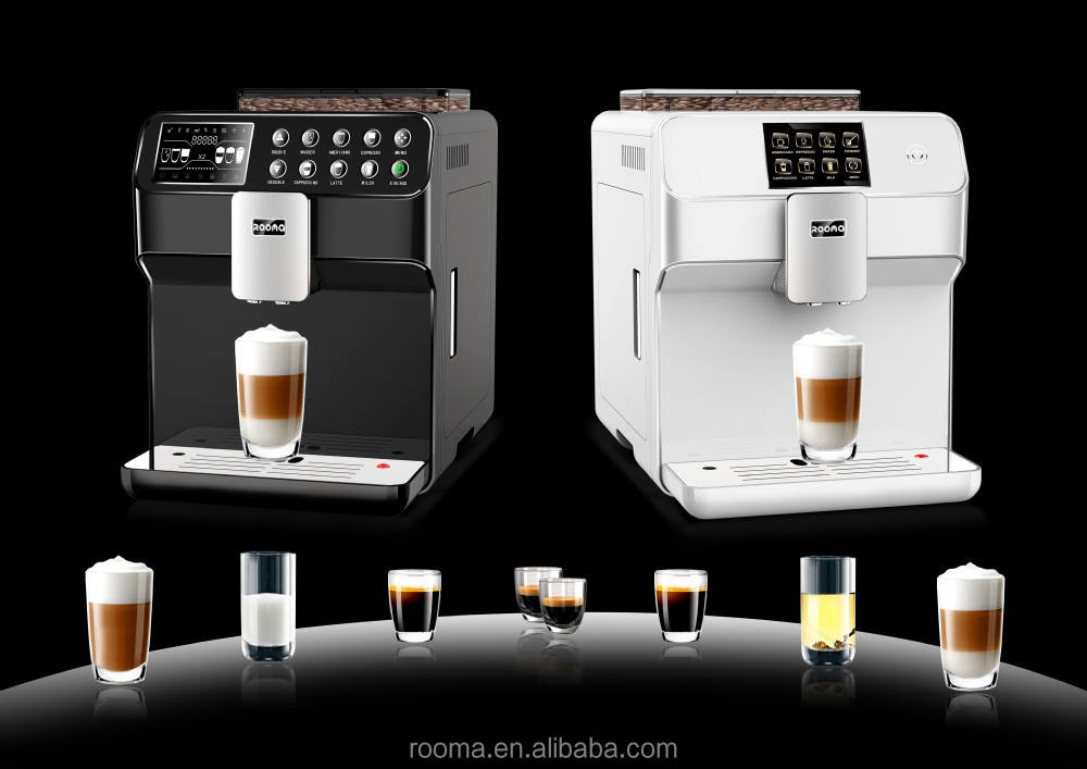 Top One Touch Cappuccino Coffee Machine Rooma Rm A9