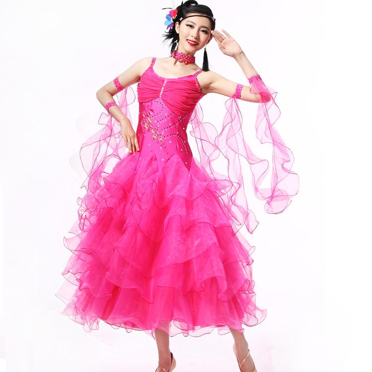 bd2ba56ae510 Get Quotations · AAW 2015 new fashion long ballroom dress diamond-studded  tango dance dresses ballroom hot sale