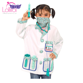 Wholesale custom children's doctors dressing up outfit