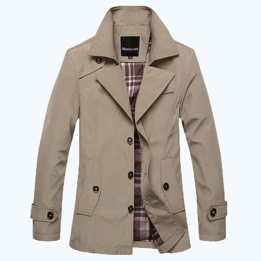 2015 Fashion Trench Men's Outerwear Jackets British Style
