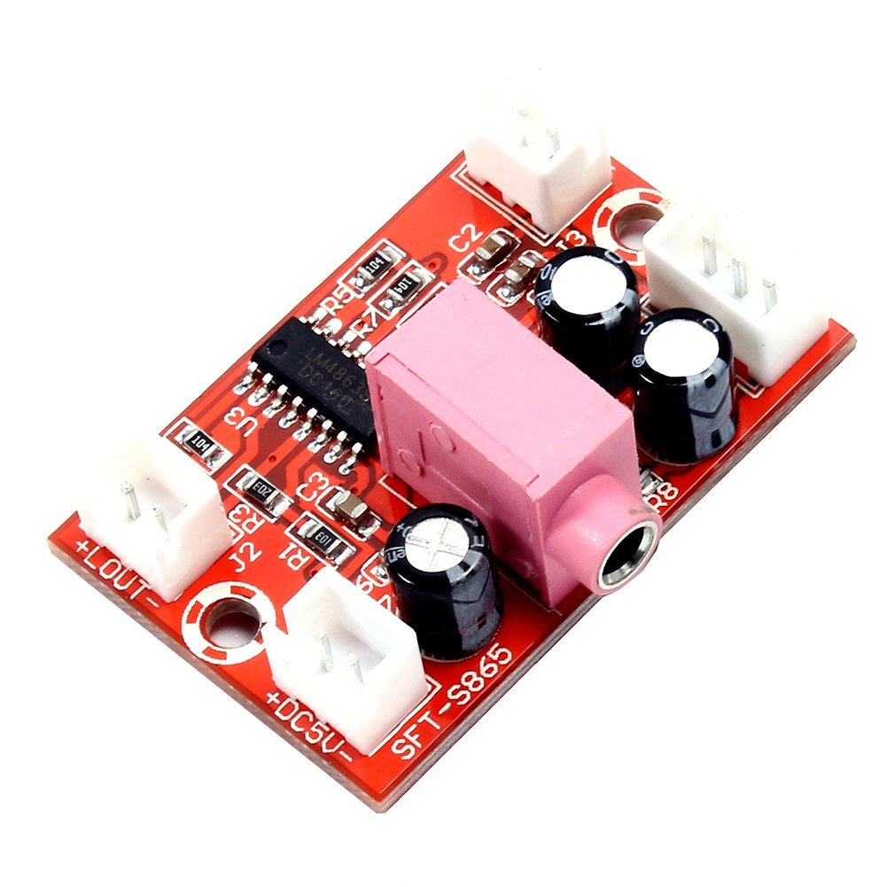 Cheap Stereo Amplifier Find Deals On Line At 25w Hifi Audio With Mosfet Get Quotations Icstation Lm4863 2x3w Digital Power Amp Earphone Jack