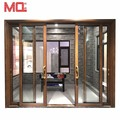 Double glass Energy saving aluminum sliding glass door