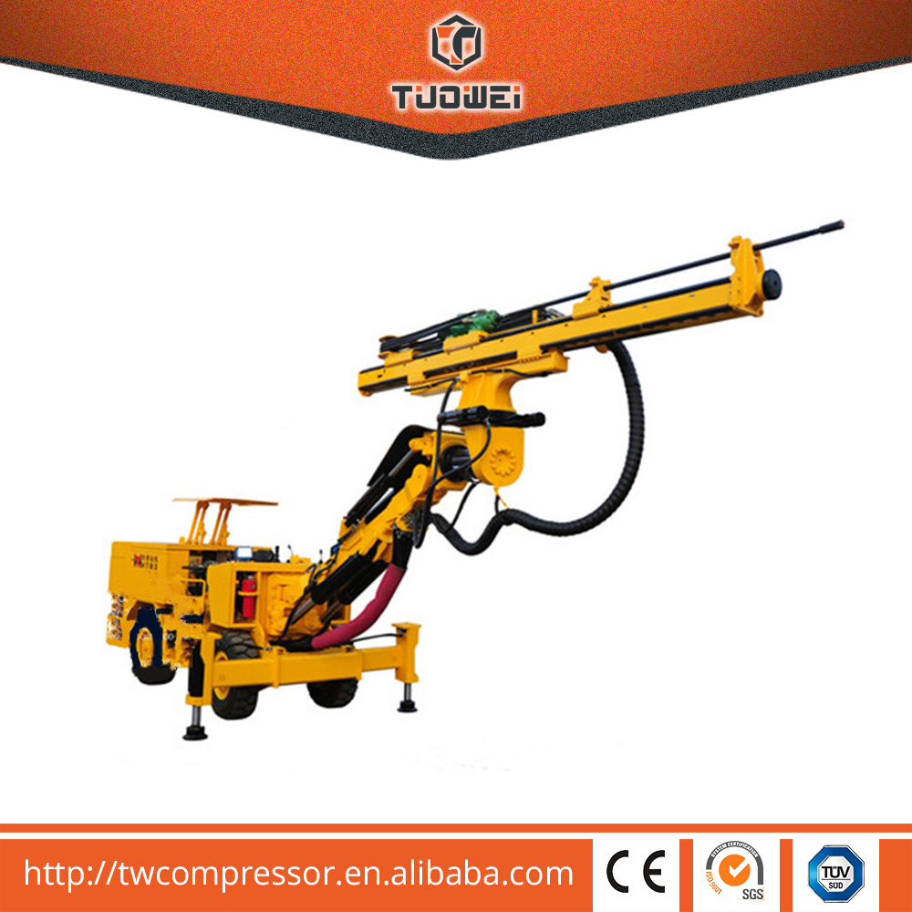Factory directly Hydraulic Undergroud TW83S Tunnel Jumbo Drill Rig
