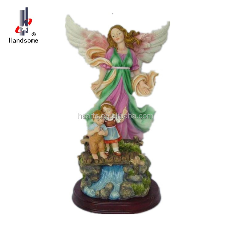 High Quality Catholic Antique Angel Resin Statues For Sale