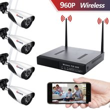 Wireless camera system Home security outdoor nvr Wifi set