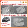 Modified Car Accessories Fuel Gas Tank Cover Toyota Innova 2016 Toyota Innova 2016 Exterior Accessories