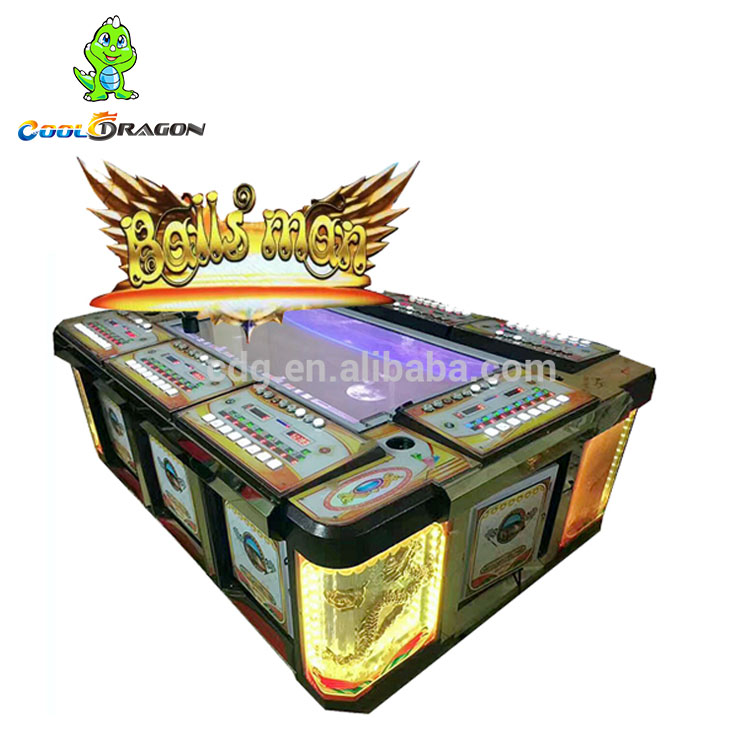 Dragon Hunter Vis Game Machine, Arcade Ballen Man Board Schieten Video Vis gokken Spel