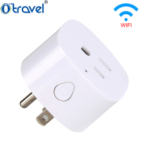 New portable smart power socket SL-152 wifi wireless mini switch remote control timer outlet USA plug