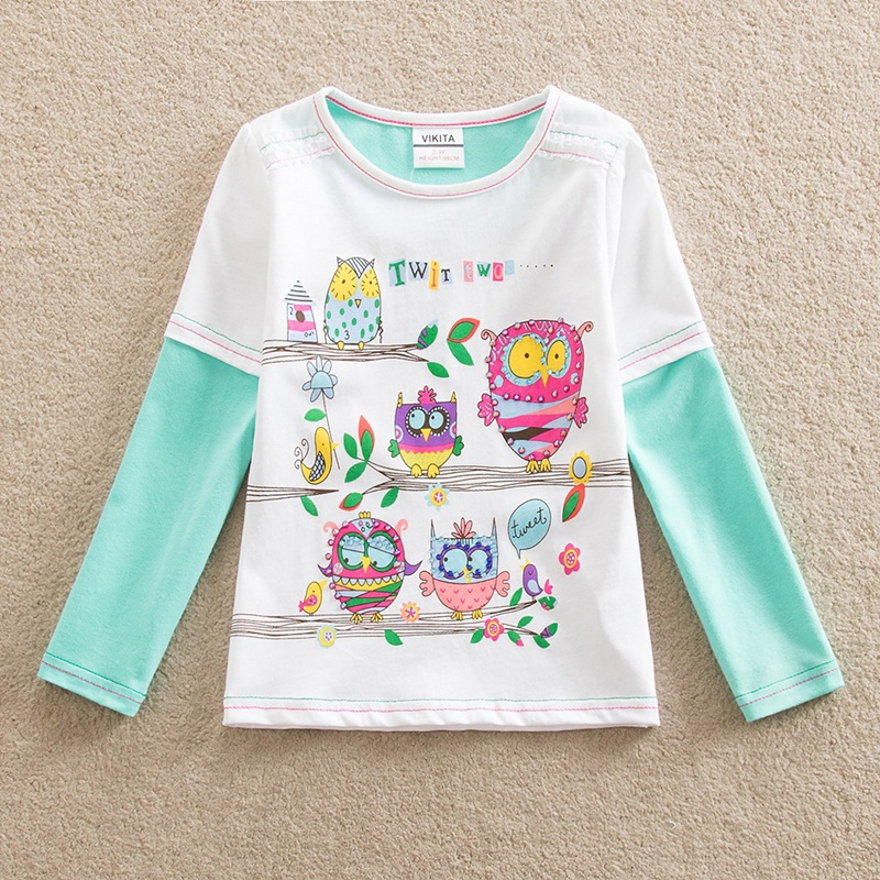 HTB1ss67fRDH8KJjSszcq6zDTFXaP - Girls Long Sleeve All Year T-Shirt, Long Sleeve, Cotton, Various Designs and Prints