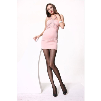 Bondage oral nylon stretch pantyhose only fat